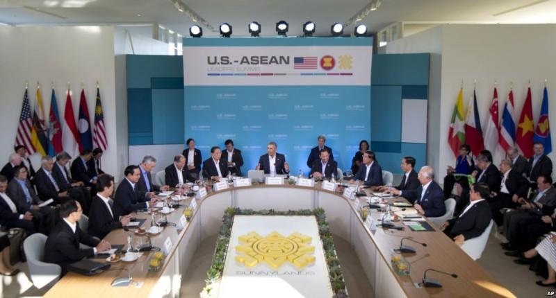 ASEAN dan AS  berfokus mendorong  prioritas-prioritas kerjasama