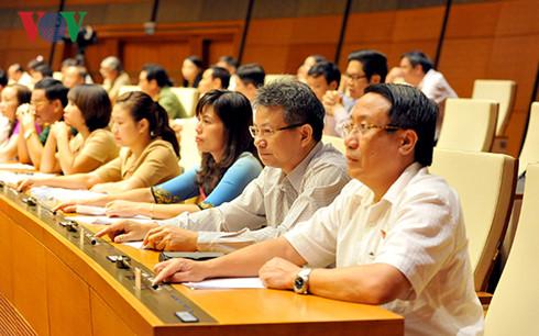 Komisi-Komisi MN Vientam menyempurnakan seluruh mesin aparat dan  membuat program aktivitas untuk masa bakti baru