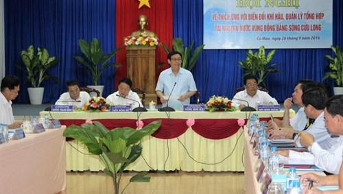 Solusi beradaptasi dengan perubahan iklim di daerah dataran rendah sungai Mekong