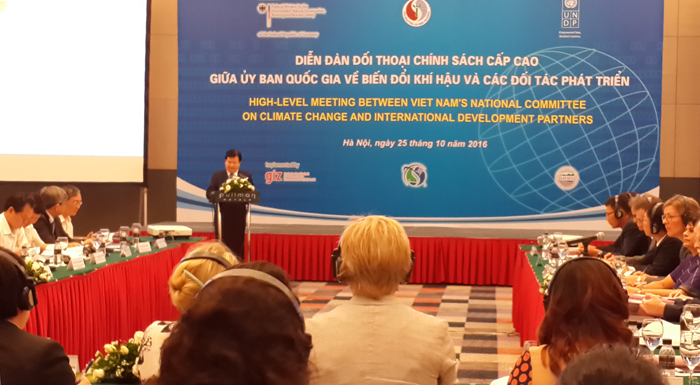 Vietnam bersedia bekerjasama untuk beradaptasi dengan perubahan iklim  dan perkembangan yang berkesinambungan