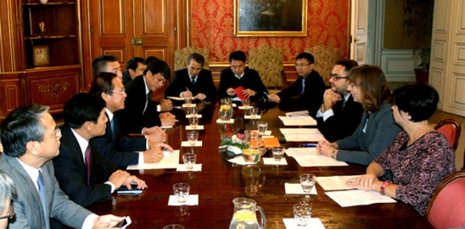 Memperkuat kerjasama ICT Vietnam-Czech