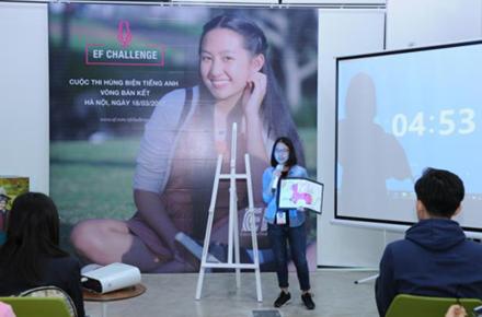 Kontes berorasi  Global dalam bahasa Inggeris  EF Challenge 2017