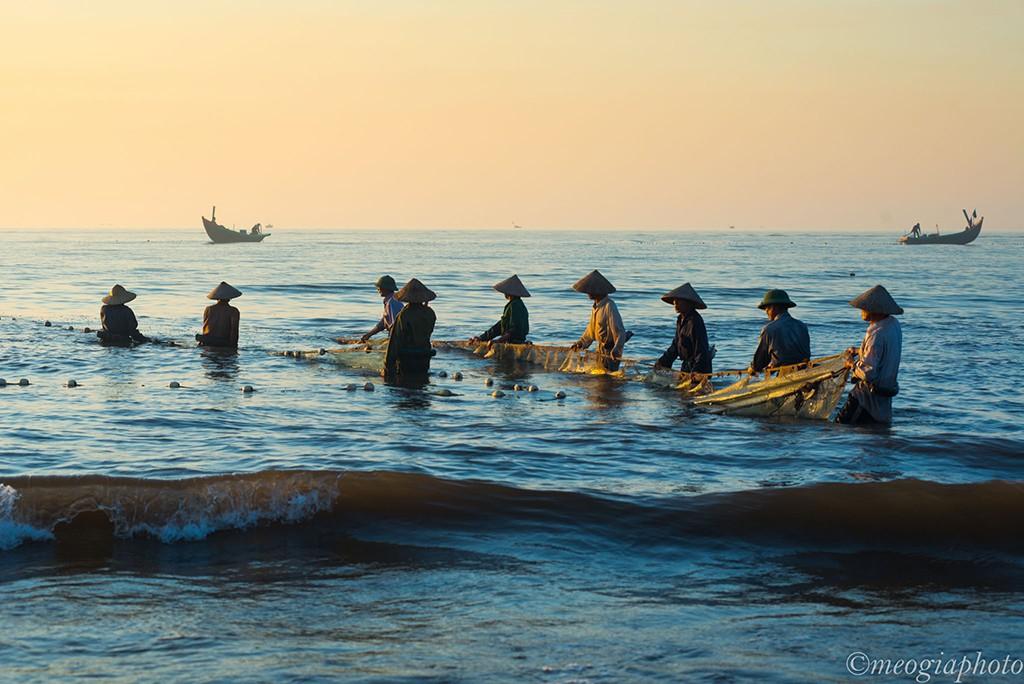 海と漁人の特徴な民謡