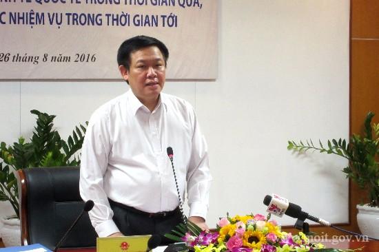 Vietnam telah dan sedang melakukan integrasi secara intensif dan ekstensif pada perekonomian dunia
