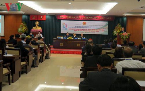 Kota Ho Chi Minh menggelarkan pelaksanaan sumbangan ide dari kaum diaspora