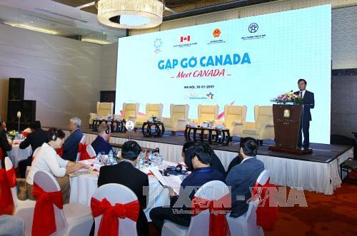 座談会「カナダとの集い」が行なわれる