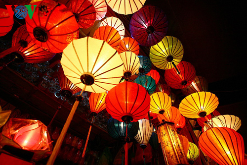 越南首次灯笼节开幕式举行