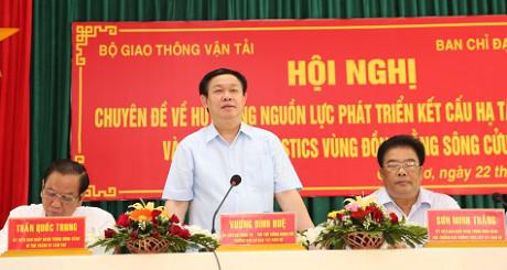 Mengerahkan sumber daya untuk mengembangkan daerah dataran rendah sungai Mekong