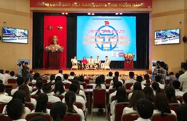 "Temu pergaulan menyalakan impian Bintang Kuliah Hanoi 2016 – ""Bintang kuliah dengan usaha startup"""