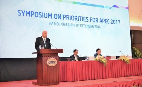 亚太经合组织领导人非正式会议及相关活动揭幕研讨会在河内举行