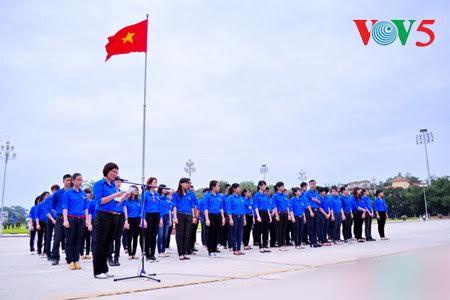 越南胡志明共青团成立86周年纪念活动暨2017年李自重奖颁奖仪式