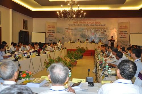 """Seminar """"Thanh Chiem-Stützpunkt und vietnamesische Schrift"""""""
