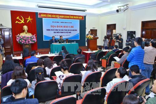 Bemühungen zur Beseitigung der Folgen von Minen und Blindgängern in Vietnam