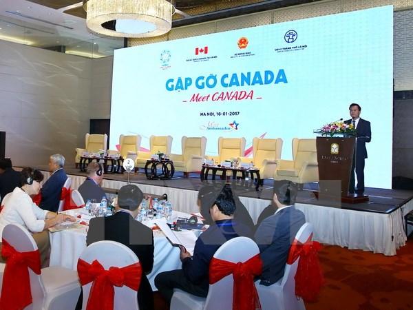 Vietnam-Kanada memperkuat  kerjasama secara efektif, substantif dan berkesinambungan