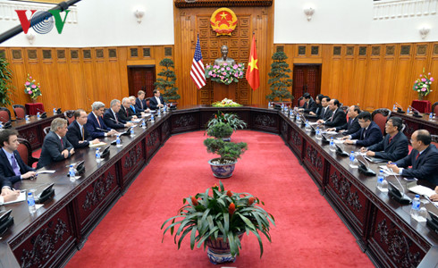 US Secretary of State John Kerry visits Vietnam