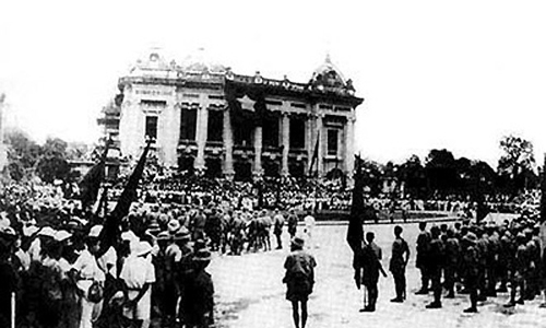 เพลงฉลองวันปฏิวัติเดือนสิงหาคมและวันชาติเวียดนาม