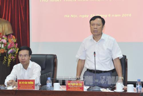 Vietnam promueve sinergia en labores de informaciones al exterior