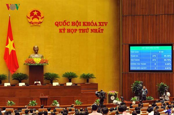 Diputados vietnamitas confían en el desempeño de la titular del Parlamento