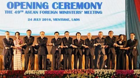 Cancilleres de la Asean expresan postura coherente en cuanto al Mar del Este