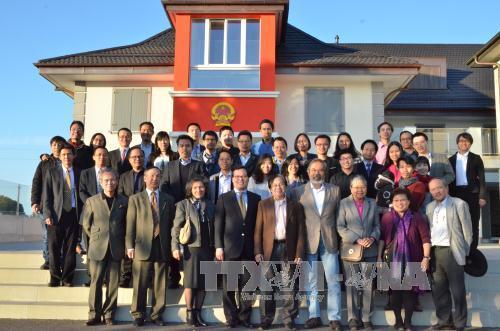 Вьетнамцы в Швейцарии обращают свой взор на Родину