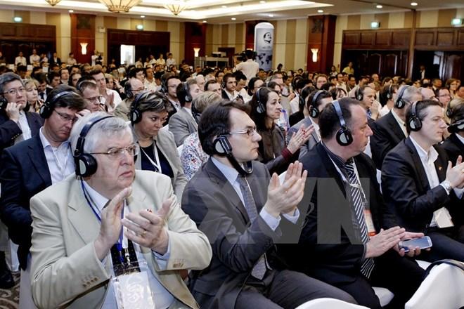 关于加强贸易与投资促进的越法研讨会在巴黎举行