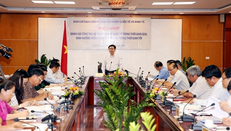 Việt Nam đã và đang hội nhập sâu rộng vào nền kinh tế thế giới