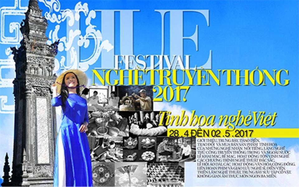 Hơn 300 nghệ nhân tham gia Festival nghề truyền thống Huế 2017