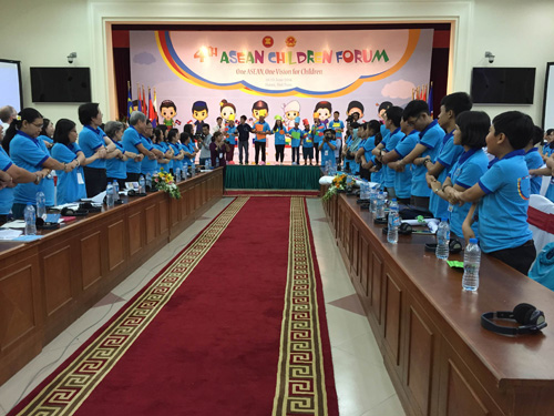 ข้อเสนอของเด็กได้ถูกยื่นต่อกระทรวงและหน่วยงานต่างๆของบรรดาประเทศสมาชิกอาเซียน