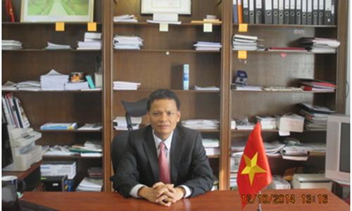 รณรงค์ให้นานาประเทศสนับสนุนเวียดนามเข้าเป็นสมาชิกของคณะกรรมการกฎหมายระหว่างประเทศ