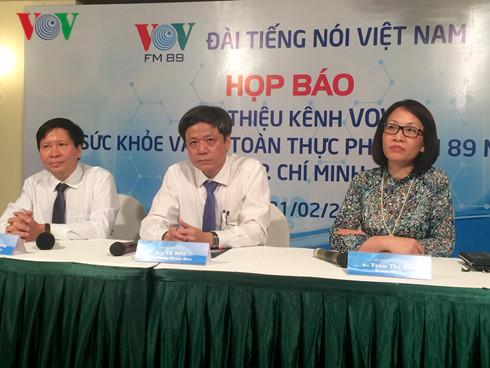 สถานีวิทยุเวียดนามเปิดช่องวิทยุเพื่อสุขภาพและความปลอดภัยด้านอาหาร