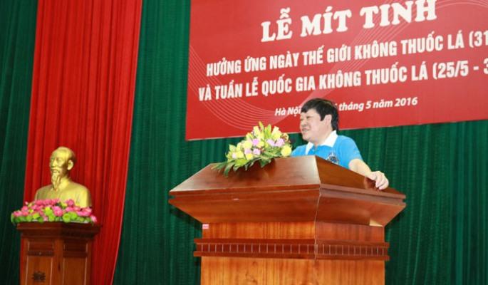 Việt Nam hưởng ứng Ngày Thế giới không thuốc lá 31/5