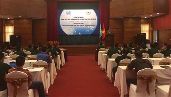 Việt Nam nâng cao năng lực gìn giữ hòa bình Liên hợp quốc