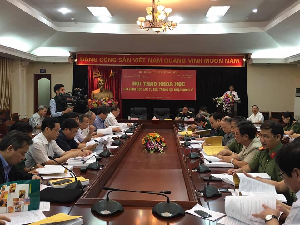 Hội thảo giữ vững độc lập, tự chủ trong hội nhập quốc tế