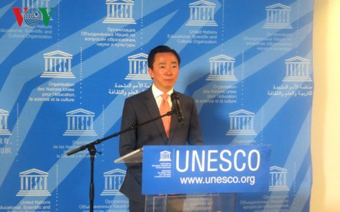 ທ່ານເອກອັກຄະລັດຖະທູດຟ້າມແຊງເຈົາອອກສະໝັກເລືອກຕັ້ງເປັນຜູ້ອຳນວຍການ UNESCO