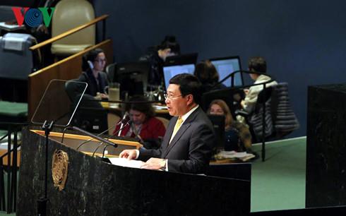 เวียดนามสนับสนุนกลไกพหุภาคีเพื่อสันติภาพ ความร่วมมือและการพัฒนาอย่างยั่งยืน
