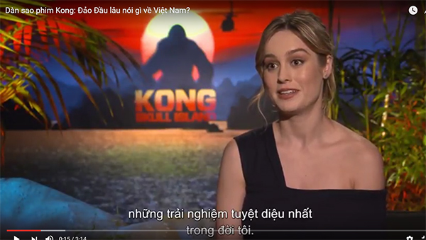 """Dàn diễn viên nổi tiếng của phim """"Kong: Đảo Đầu Lâu"""" ca ngợi Việt Nam"""