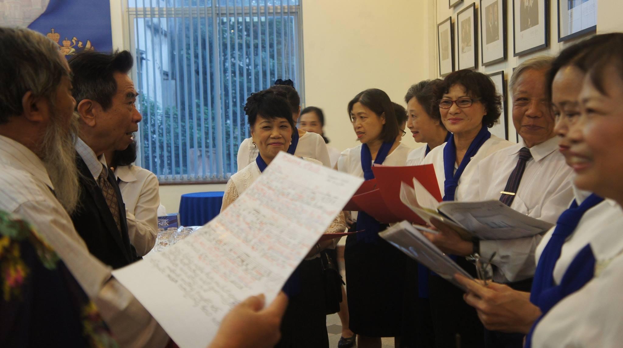 Клуб «Берёзка» - место встречи вьетнамских любителей русского языка, русской музыки и культуры