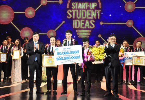Best start-up student ideas honored