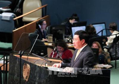 Vietnam unterstützt multilaterale Institutionen für Frieden, Zusammenarbeit und Entwicklung