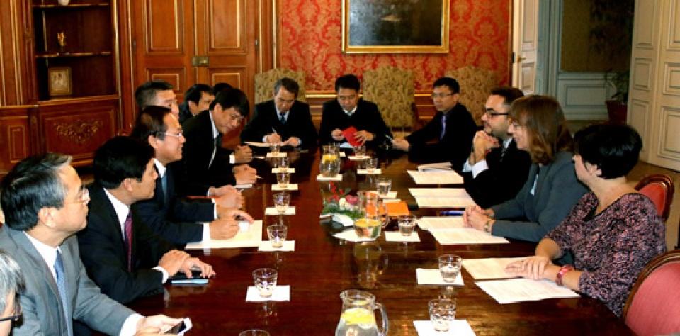 Verstärkung der Zusammenarbeit in ICT zwischen Vietnam und Tschechien