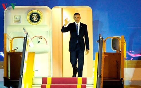 Ausländische Medien berichten über Obamas Besuch in Vietnam