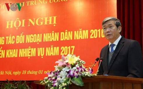 Verstärkung der außenpolitischen Informationen und Verbesserung des Ansehens Vietnams