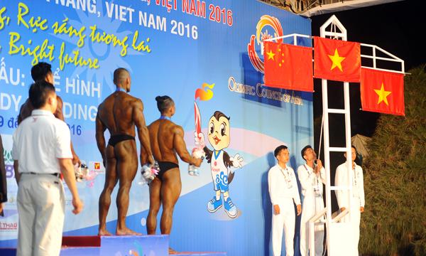 เวียดนามอยู่อันดับหนึ่งในวันที่ 6 ของการแข่งขันเอเชียนบีชเกมส์ครั้งที่ 5