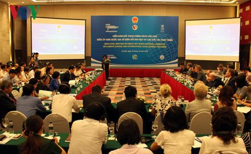 เวียดนามพร้อมที่จะร่วมมือเพื่อรับมือกับการเปลี่ยนแปลงของสภาพภูมิอากาศและการพัฒนาอย่างยั่งยืน