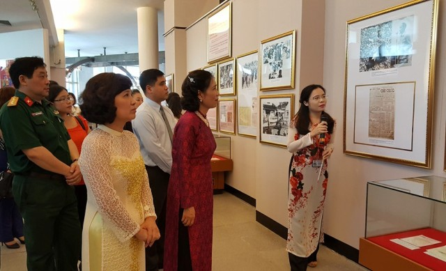 Exhibit on President Ho Chi Minh and NA and People's Council elections
