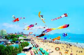 越南旅游:第7届国际风筝联欢节开幕