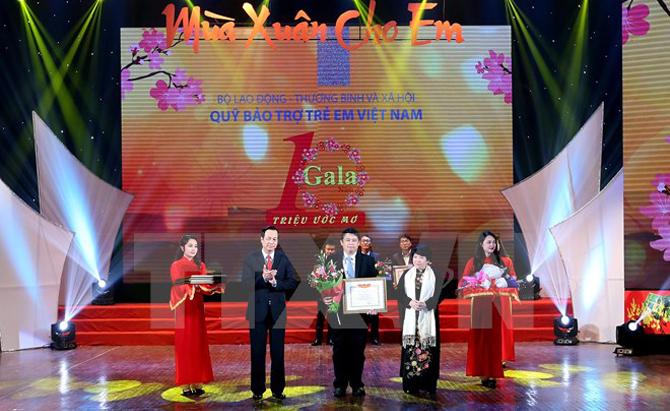 Фонд помощи вьетнамским детям организовал программу «Весна для детей»