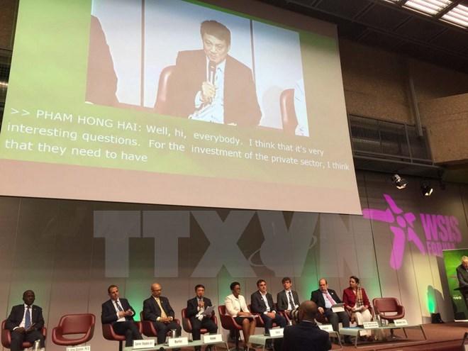 Le Vietnam au Sommet mondial sur la société de l'information