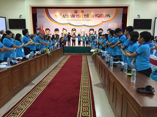 Clôture du 4ème forum des enfants de l'ASEAN à Hanoi