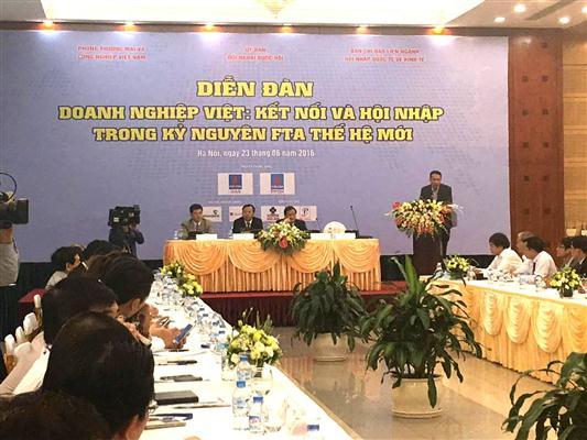 Les entreprises vietnamiennes doivent coopérer pour être plus compétitives
